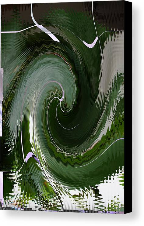 Special Effect Canvas Print featuring the photograph Astral Greenery by Gregory Lafferty