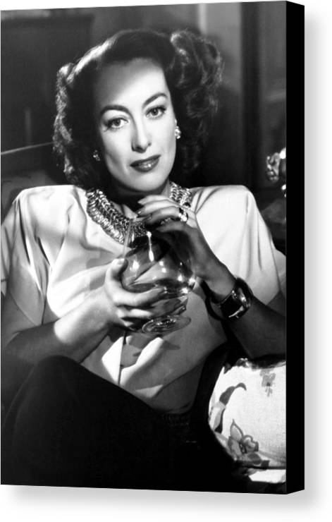 1940s Movies Canvas Print featuring the photograph Humoresque, Joan Crawford, 1946 by Everett