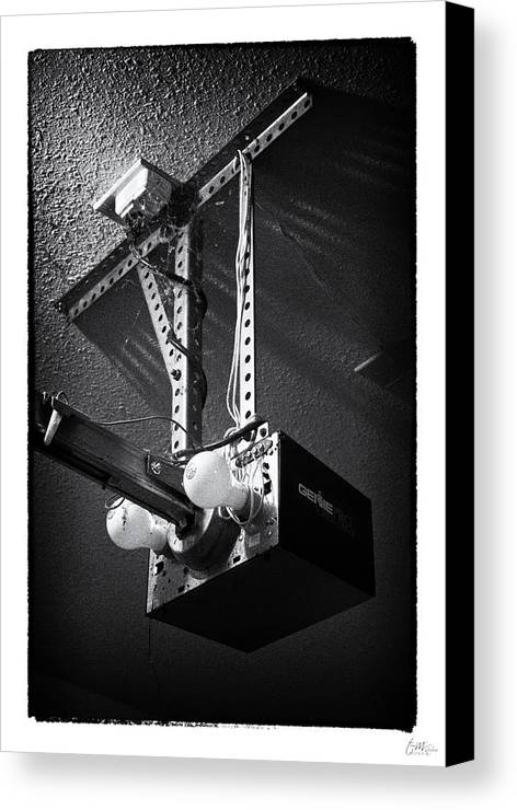 Grunge Canvas Print featuring the photograph Open Up - Art Unexpected by Tom Mc Nemar