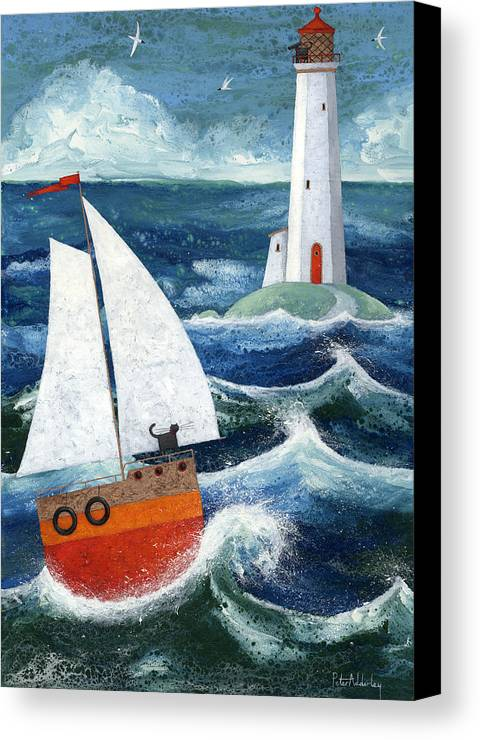 Animal Canvas Print featuring the photograph Safe Passage by Peter Adderley