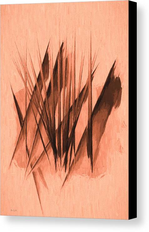 Abstract Canvas Print featuring the painting Sounds Of Spring by Bob Orsillo