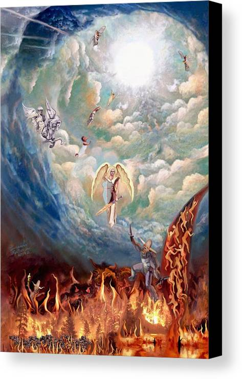 Spiritual Warfare Canvas Print Canvas Art By Susanna