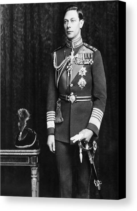 1920s Canvas Print featuring the photograph British Royalty. Prince George, Duke by Everett