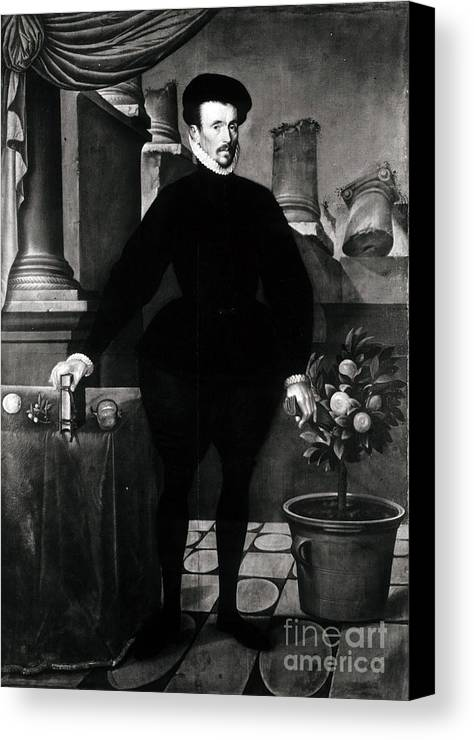 Science Canvas Print featuring the photograph Felix Plater, Swiss Physician by Science Source