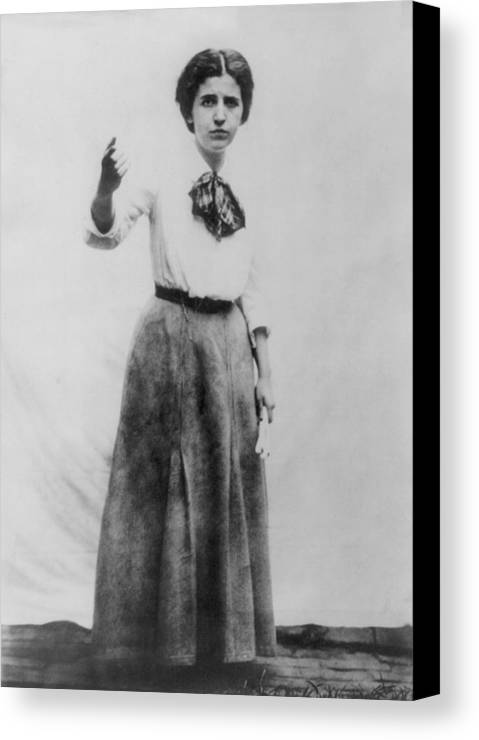 History Canvas Print featuring the photograph Elizabeth Gurley Flynn 1890-1964, Labor by Everett