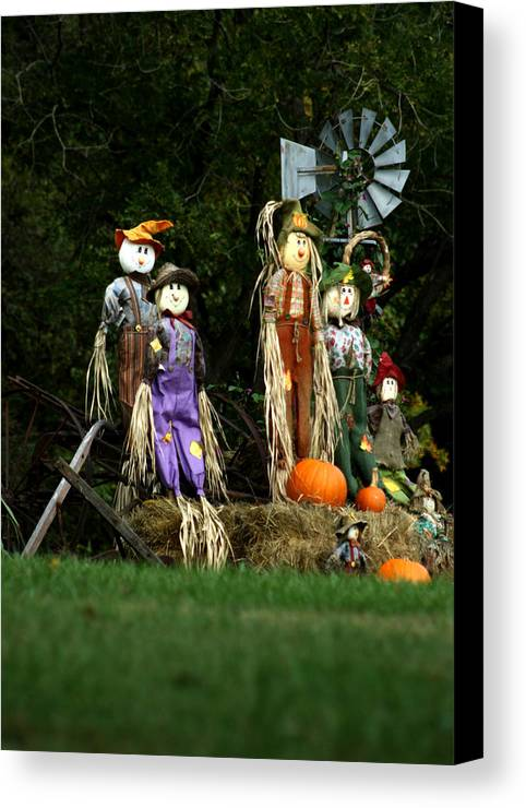 Fall Canvas Print featuring the photograph Fall Decoration by Emanuel Tanjala