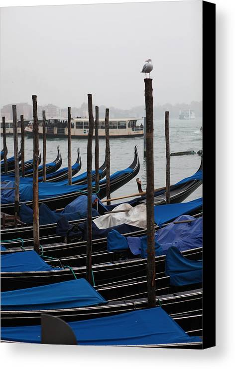 Venice Canvas Print featuring the photograph Gondola by Kenneth Drylie