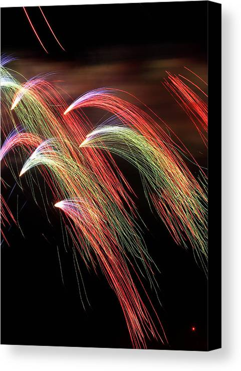 Light Canvas Print featuring the photograph Rainbow Burst by Elizabeth Hart