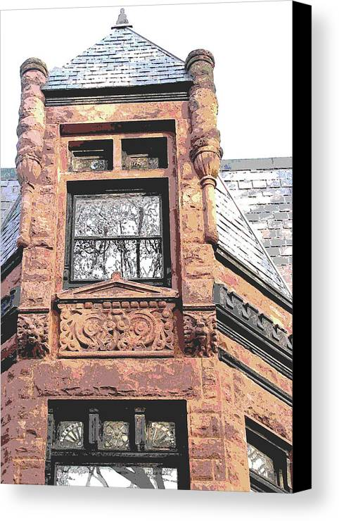 Canvas Print featuring the photograph Window Series by Ginger Geftakys