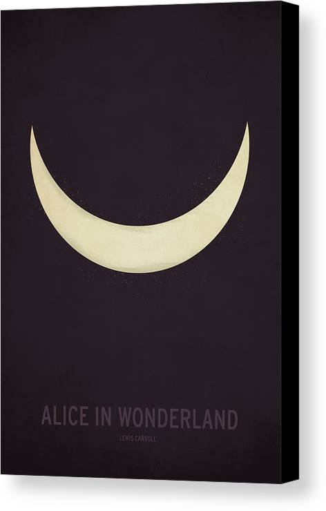 Stories Canvas Print featuring the digital art Alice In Wonderland by Christian Jackson