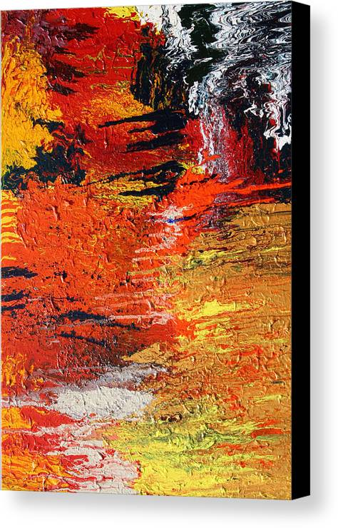 Fusionart Canvas Print featuring the painting Chasm by Ralph White
