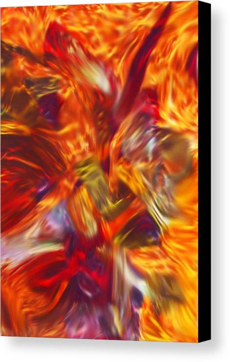 African Canvas Print featuring the painting Creations Vortex by AJ Modiest