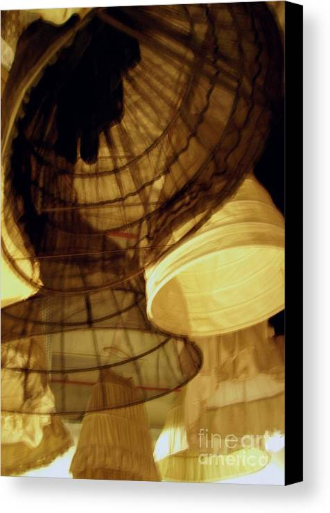 Theatre Canvas Print featuring the photograph Crinolines by Ze DaLuz