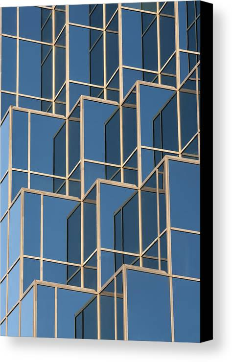 Reflections Canvas Print featuring the photograph Little Boxes by Elisabeth Van Eyken