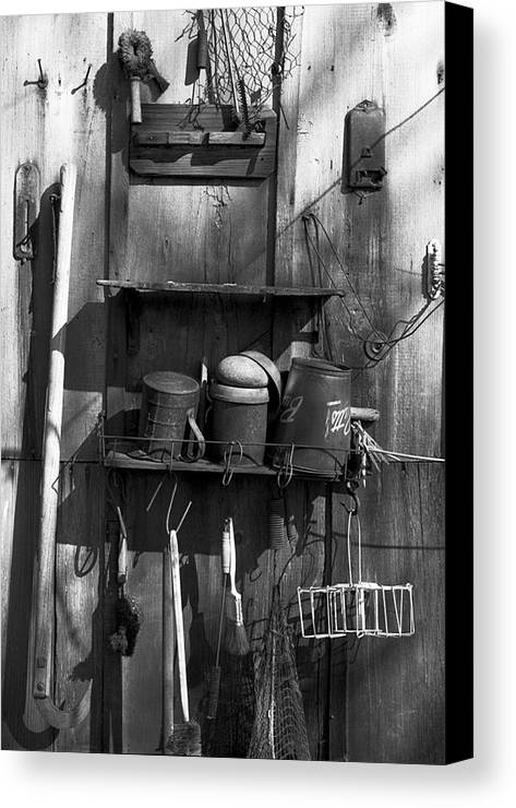 Great Miami River Canvas Print featuring the photograph Long Gone Six by Clyde Replogle