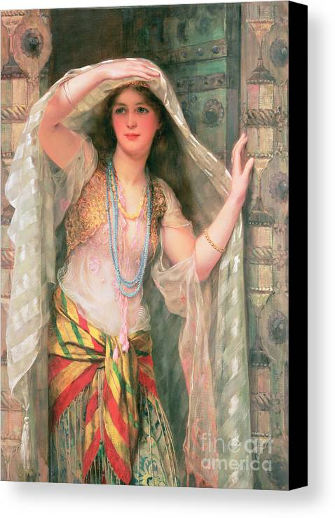 Safie Canvas Print featuring the painting Safie by William Clark Wontner