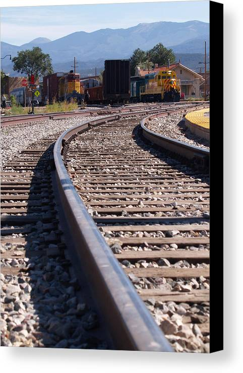 Landscape Canvas Print featuring the photograph Santa Fe All The Way by James Granberry