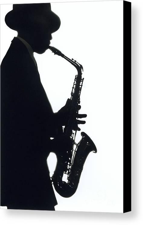 Sax Canvas Print featuring the photograph Sax 2 by Tony Cordoza