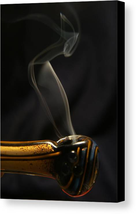Smoke Canvas Print featuring the photograph Smoke Diver by Lynda Dawson-Youngclaus
