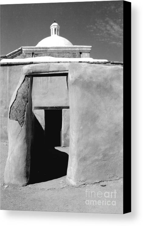 Shadows Canvas Print featuring the photograph Sol Y Sombra by Kathy McClure