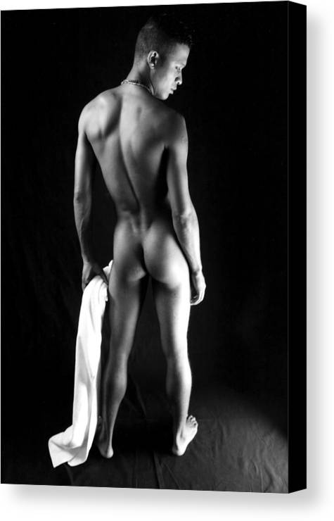Male Canvas Print featuring the photograph Sonan by Dan Nelson