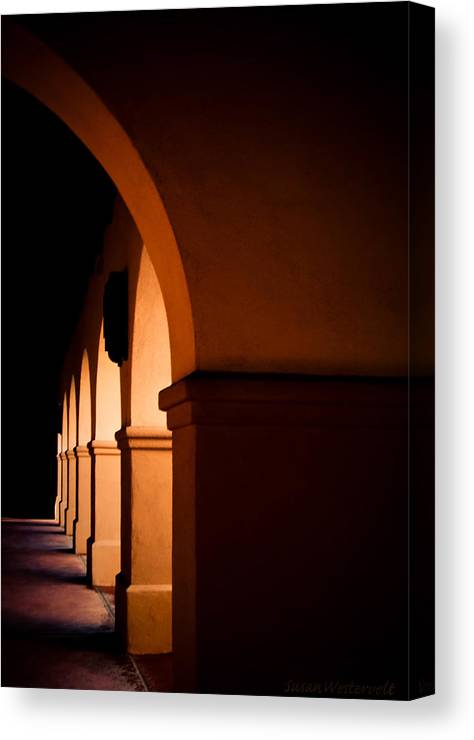 Arch Canvas Print featuring the photograph Arches by Susan Westervelt