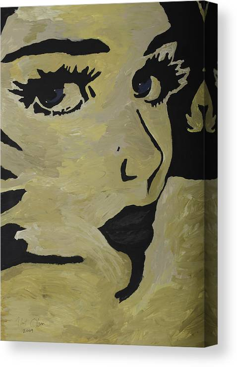 Woman Canvas Print featuring the painting Candy by Kurt Olson