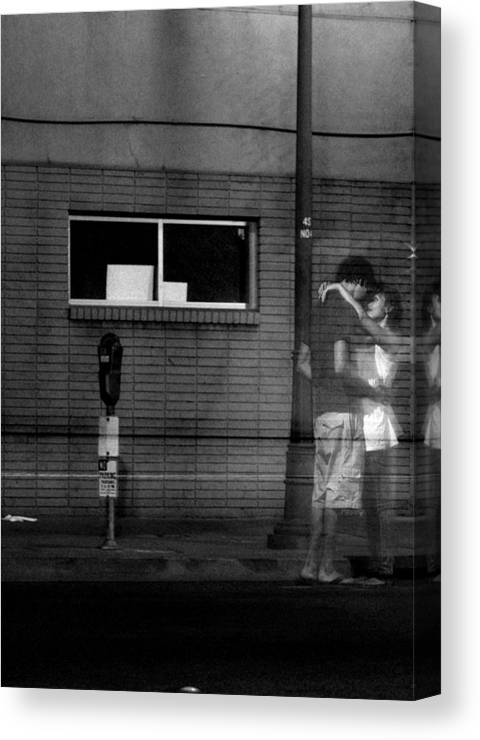 Love Canvas Print featuring the photograph Ghost Couple by Nathan Anglin