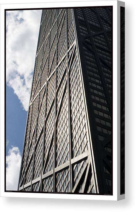 1969 Canvas Print featuring the photograph John Hancock Center - 07.31.09_149 by Paul Hasara