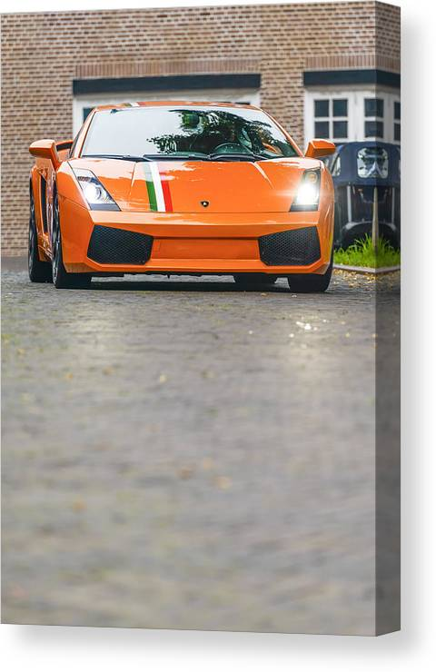 Lamborghini Gallardo Canvas Print Canvas Art By Sjo