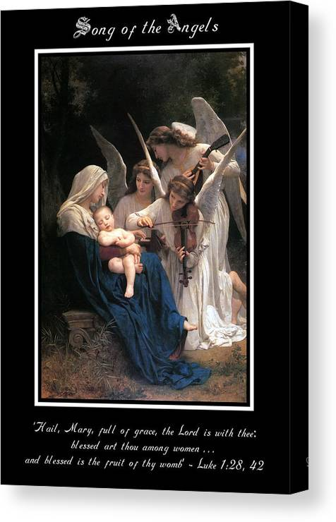 Song Of The Angels Canvas Print
