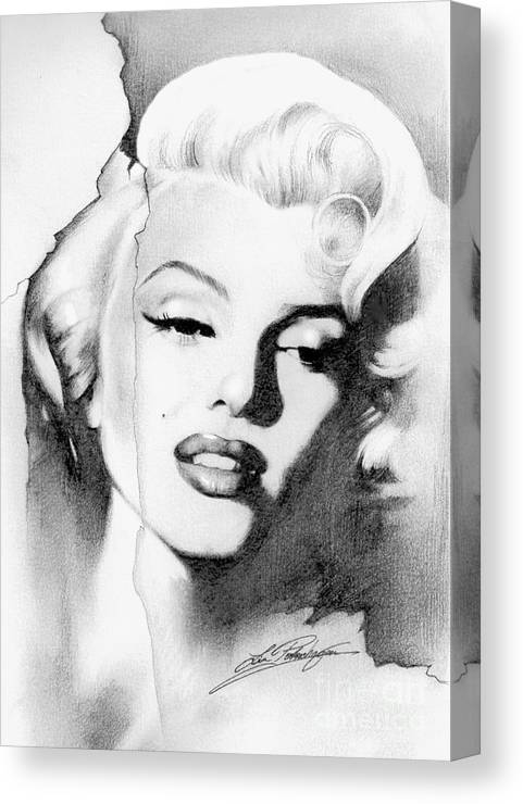 Marilyn Monroe Canvas Print Canvas Art By Lin Petershagen