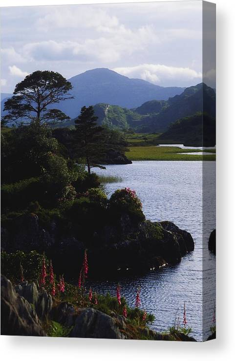 Co Kerry Canvas Print featuring the photograph Upper Lake, Killarney, Co Kerry by The Irish Image Collection