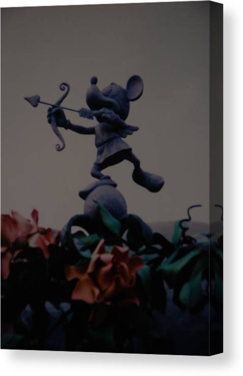 Micky Mouse Canvas Print featuring the photograph Mickey Mouse by Rob Hans