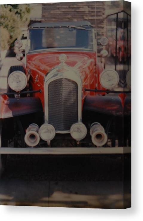 Car Canvas Print featuring the photograph 1932 by Rob Hans