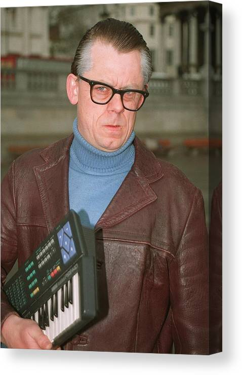 Jez C Self Canvas Print featuring the photograph John Shuttleworth 1 by Jez C Self