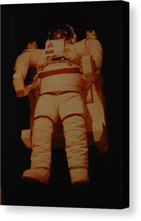 Nasa Canvas Print featuring the photograph Space Suit by Rob Hans