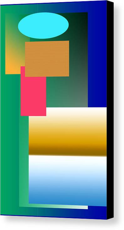 Abundance Canvas Print featuring the photograph Abundance Of Colour by Martin Masterson