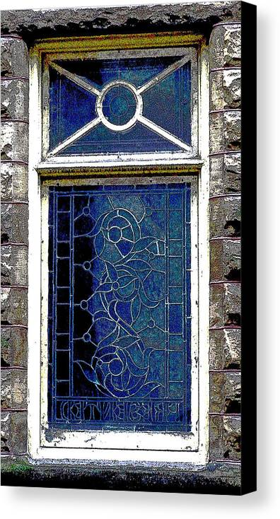 Windows Canvas Print featuring the photograph Window Series by Ginger Geftakys