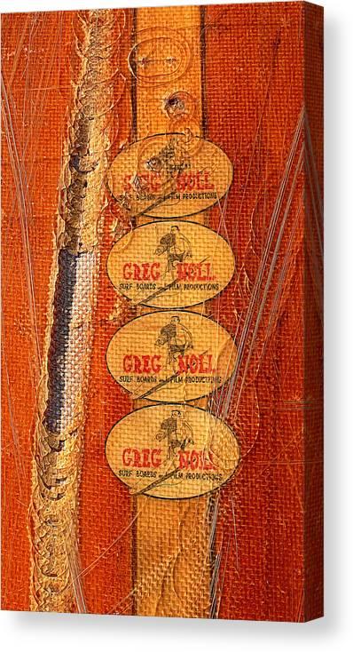 Da Bull Canvas Print featuring the photograph Greg Noll by Ron Regalado