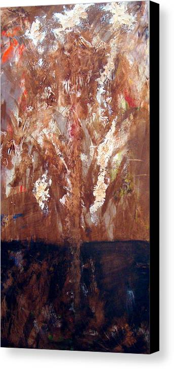 Autumn Canvas Print featuring the painting Autumn by Holly Picano