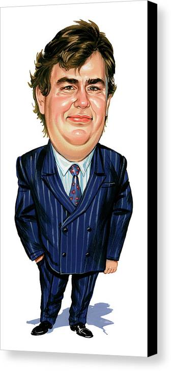 John Candy Canvas Print featuring the painting John Candy by Art