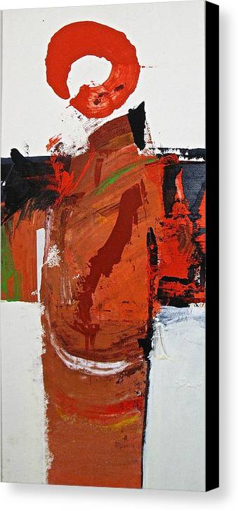 Abstract Painting Canvas Print featuring the painting Kimono Lisa by Cliff Spohn