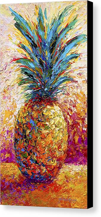 Pineapple Expression Canvas Print Canvas Art By Marion Rose