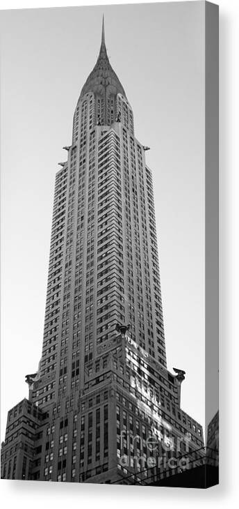 Chrysler Building Canvas Print featuring the photograph Chrysler Building by Emmy Vickers