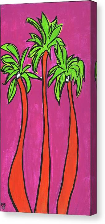 Aloha Canvas Print featuring the painting Sisterhood by Michelle Holmes