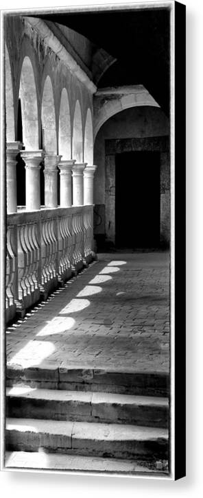 Light Canvas Print featuring the photograph The Path Of Light by Barry Weiss