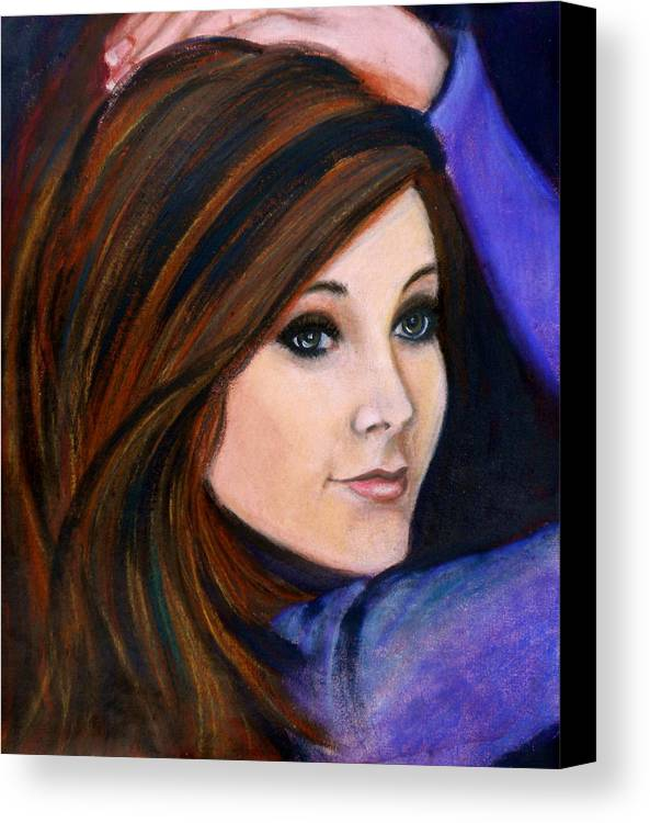 Daydreams Canvas Print featuring the painting Daydreams by Debi Starr
