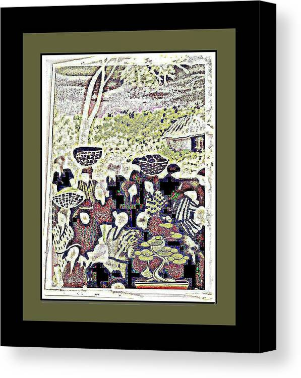 Heritage Canvas Print featuring the mixed media Heritage Gathering 1 by Tracie Howard