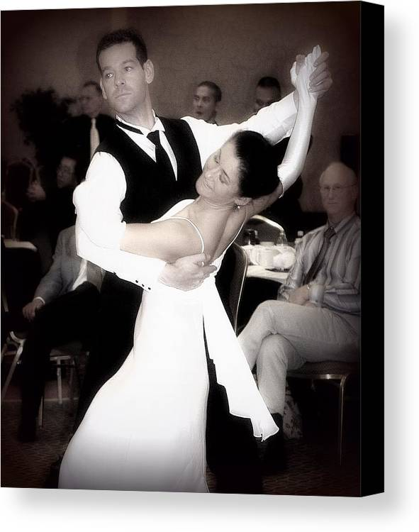 Dance Canvas Print featuring the photograph Dance With Me by Lori Seaman
